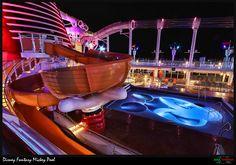 Disney Fantasy Cruise Ship Mickey Mouse Pool