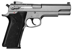 Smith & Wesson 4506 - .45 ACP. This is one of the screen-used firearms carried by Denzel Washington in the film Training Day. Thanks to James Georgopoulos.