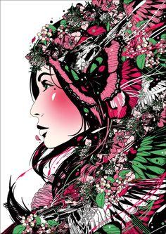 Marumiyan graphic art