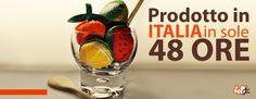 Gadget promozionali prodotti in Italia in sole 48h, FRUTTA SACCHETTO