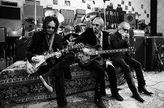 Mike Campbell, Tom Petty & Scott Thurston