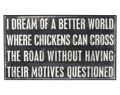 chickens by johanna