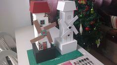 Brinquedo de madeira - automato  - catavento - Ovelhinho