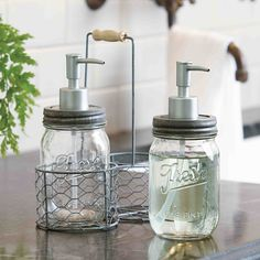 Soap and Lotion Caddy Set