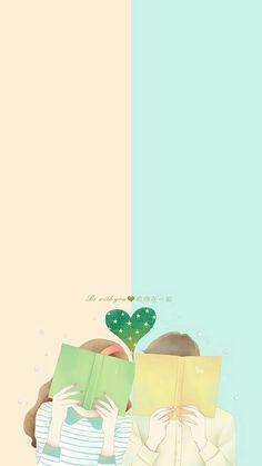 in cover # Random # amreading # books # wattpad Cute Couple Cartoon, Cute Couple Art, Anime Love Couple, Cute Anime Couples, Cartoon Wallpaper, Kawaii Wallpaper, Love Wallpaper, Cute Wallpaper Backgrounds, Cute Wallpapers