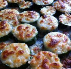 Baked Mozzarella Zucchinni