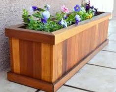 deck planter box - Google Search