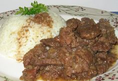 Borsos tokány Marcsitól Starters, Entrees, Steak, Bacon, Beef, Recipes, Food, Apps, Meat