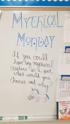 I would do Magical Monday and the kids would have to find the magic number Journal Topics, Journal Prompts, Morning Board, Morning Meetings, Daily Writing Prompts, Magic Number, Bell Work, Responsive Classroom, Bell Ringers