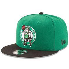 6d5eb3ed8b763 Men s New Era Kelly Green Black Boston Celtics Victory Side 9FIFTY  Adjustable Snapback Hat