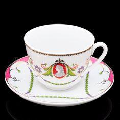 Tea Cup Set, Tea Cup Saucer, Porcelain Mugs, China Porcelain, Pink Cups, China Tea Sets, China Dinnerware, Teacups, Afternoon Tea
