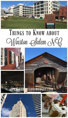 Things to Know about Winston Salem North Carolina (Make sure you check out the milkshakes at Burger Batch!) - Hobbies on a Budget