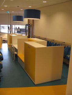 Verkrijgbaar via De Giessen (www.nl / www. Princeton Library, Habits Of Mind, Interior Architecture, Interior Design, Dream School, School Building, Library Books, Future Classroom, School Design
