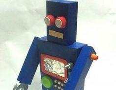 Robô de Sucata: Como Fazer um Para as Crianças Brincarem?