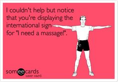 I NEED A MASSAGE!  Come to Fulcher's Therapeutic Massage in Imlay City, MI and Lapeer, MI for all of your massage needs!  Call (810) 724-0996 or (810) 664-8852 respectively for more information or visit our website lapeermassage.com!