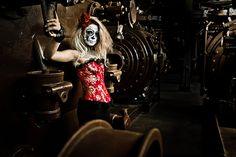 Skeleton Ghost Saloon Girl?