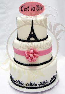 Paris Cake - Caketutes Cake Designer