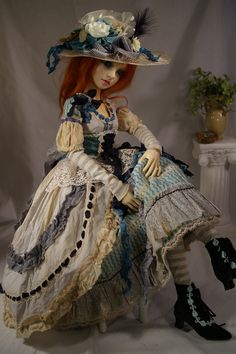 Doll dressed by Denise Maisak
