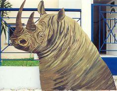 ΖΩΓΡΑΦΙΚΗ ΓΙΑΝΝΗΣ ΓΕΩΡΓΙΑΔΗΣ: ΖΩΓΡΑΦΙΚΗ ΖΩΩΝ Lion Sculpture, Statue, Painting, Animals, Art, Art Background, Animales, Animaux, Painting Art
