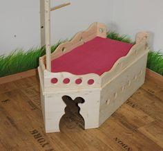 rabbit ship and treat holder