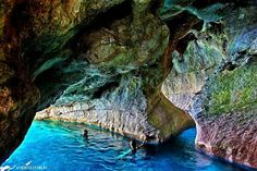 Cove in Marmara breach, Sfakia Crete
