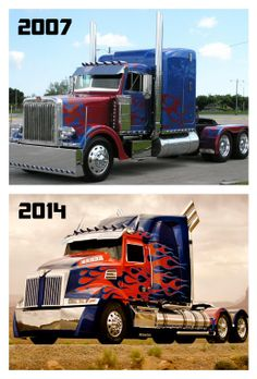 Evolution of Optimus Prime! #movies #Transformers