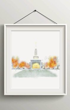 Toronto Temple, Printable, Instant Download, LDS Toronto Temple, LDS Temples, Temple Print, LDS Printable, Mormon Printable, Temple Artwork