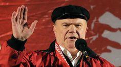 Communists put own anti-crisis program to Putin  http://pronewsonline.com  Leader of the Russian Communist Party Gennady Zyuganov. ©Vitaliy Belousov