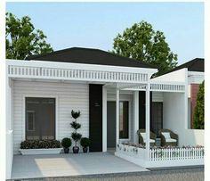 Village House Design, Country House Design, Bungalow House Design, House Front Design, Small House Design, Home Building Design, Home Room Design, Home Design Plans, Model House Plan