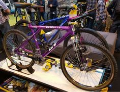 GT Bicycles Zaskar LE purple
