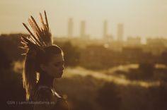 Sunset with model by Gema Sánchez on 500px