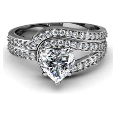 Engagement Ring Heart Shaped 49