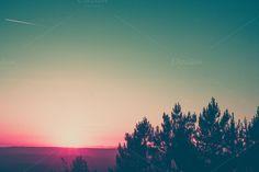 Colored sunset http://ctv.mk/1ySxGRe