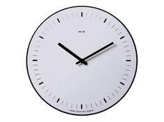 Wall-mounted aluminium clock ORARIO | Wall-mounted clock - REXITE