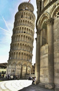 Pisa, La Torre | Francesco Batoni via Flickr Pisa Tuscany