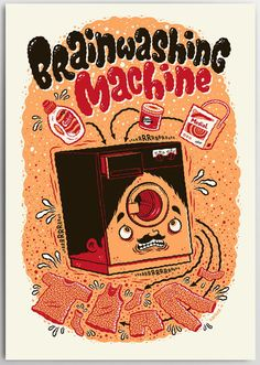 """Brainwashing Machine"" Art Print by Michael Hacker"