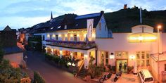 Hotel Zur Post - Klotten Cochem - We have had several American friends recommend this treasure and stayed overnight in 2014. The owner is a 5 star chef so we recommend booking the room with the half board (breakfast and dinner inclusive) option. Delicious! (BIKER FRIENDLY w/ PARKING)