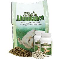 Life's Abundance Daily Nutritional System for Dogs: Large System :: This Daily Nutritional System unites Life's Abundance Premium Health Food with our Wellness Food Supplement in a single purpose – to provide your dog with excellent nutrition, every single day.    $53.16 @ HealthyPetFoodUSA.com    Call Will @ (772) 766-2921 for wholesale pricing.