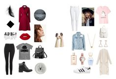 """""""Untitled #1"""" by zofielarsen ❤ liked on Polyvore featuring Topshop, Sam Edelman, Harris Wharf London, Everlane, Olivia Burton, H&M, adidas, Lime Crime, Understated Leather and Willow Tree"""