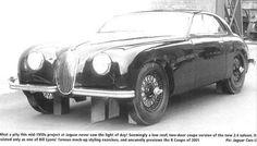mid-1950s - prototype  Jaguar XK150