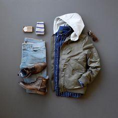 Jachs NY Winter Fashion #menswear #mensfashion #menstyle #denim #boots