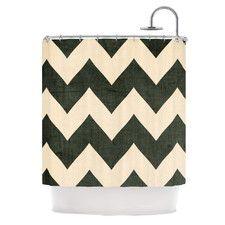DENY Designs Garima Dhawan Woven Polyester New Friends 2 Shower Curtain   AllModern