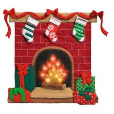 Bucilla ~ Fireside Glow ~ Felt Christmas Wall Hanging Kit Now you will be able to enjoy that experience even if you don't have a fireplace of your own. Bucilla felt applique kits are a Christmas tradition. Christmas Stocking Kits, Christmas Love, Christmas Stockings, Christmas Crafts, Christmas Decorations, Christmas Ornaments, Holiday Decor, Craft Decorations, Felt Wall Hanging