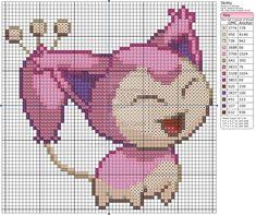Pokemon - Skitty by Makibird-Stitching.deviantart.com on @deviantART
