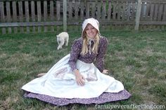Pioneer Costume Tutorial...Little House on the Prairie costume, or for your little girl, Kirsten Larsen?