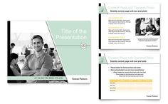 Venture Capital Firm PowerPoint Presentation Template Design by StockLayouts