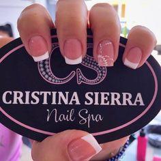 Irridescent Nails, Hair And Nails, My Nails, Short Square Nails, French Manicure Nails, Beauty In Art, Hair Beauty, Nail Spa, Easy Nail Art
