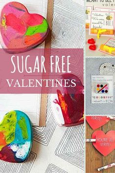 I'm that crazy mom who hates seeing her child eat any food that doesn't meet my standards so I put together this post of my favorite sugar free valentines.