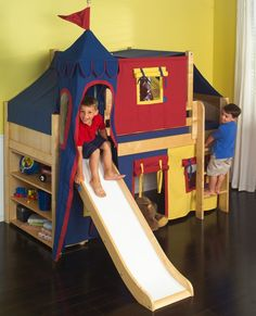 Buy Your Jordan Low Loft Bed Here. The Jordan Low Loft Bed Is A Fun And  Functional Loft For Your Child!