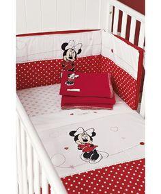 Disney Minnie Mouse Bow Power 4 Piece Toddler Bedding Set Disney